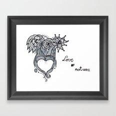Love Of Nature Framed Art Print