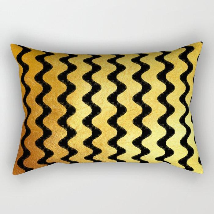 Wavy & Sassy Rectangular Pillow