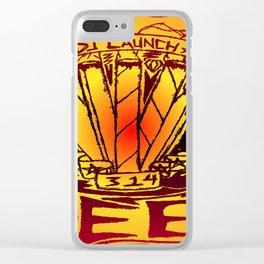 Blunts & Joints (fiery) Clear iPhone Case