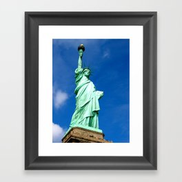 Staue of Liberty, New York Framed Art Print