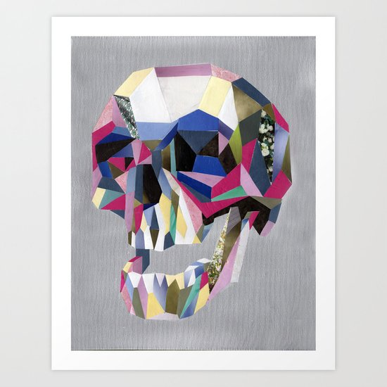 Skully skull Art Print
