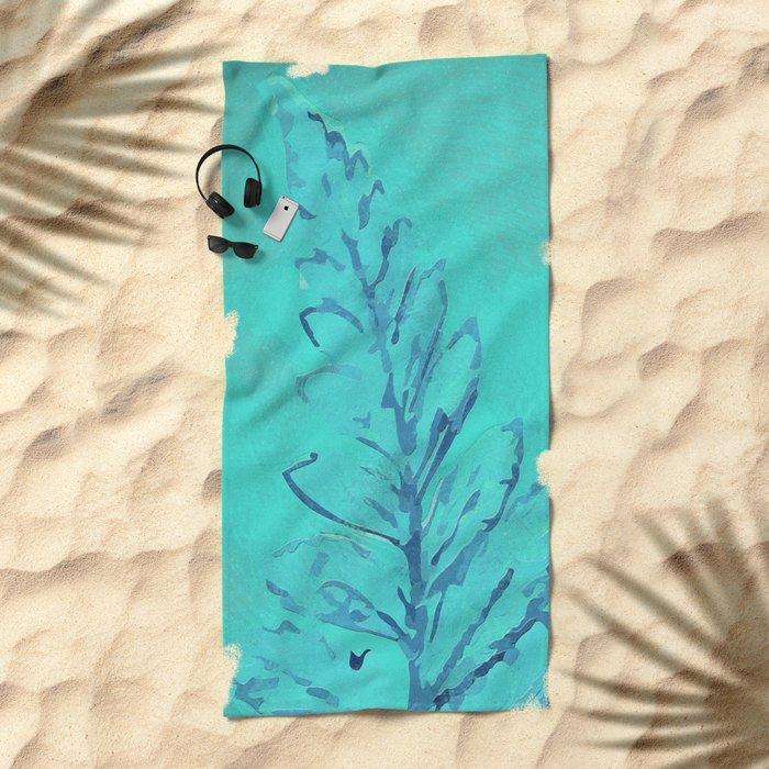 Painting II Beach Towel