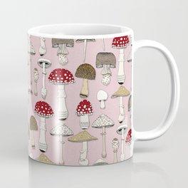 mushrooms pink Coffee Mug