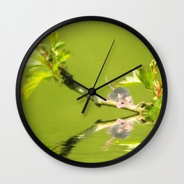 A little mouse Wall Clock