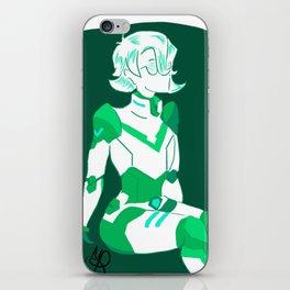 Green Paladin iPhone Skin