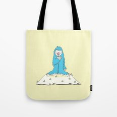 Leon the friendly Yeti Tote Bag