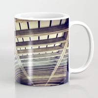 washington dc Mugs featuring Petworth Metro (Washington, DC) by Carsick T-Rex
