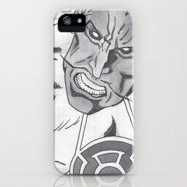 Sinestro iPhone Case