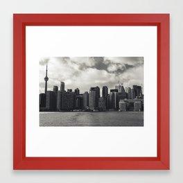 Toronto Island Skyline Framed Art Print