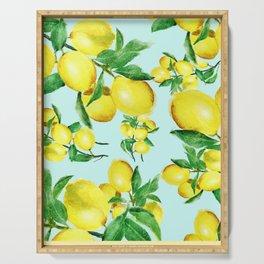 lemon 2 Serving Tray