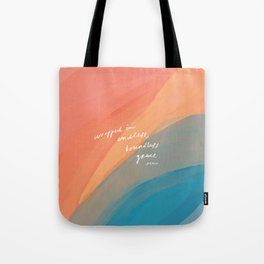 wrapped in endless, boundless grace Tote Bag