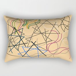 Sophie Taeuber-Arp - Stars, triangles, waves - Digital Remastered Edition Rectangular Pillow