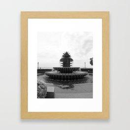 Pineapple Fountain Charleston River Park Framed Art Print