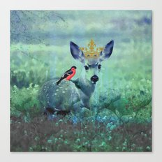 The Night Meadow Canvas Print