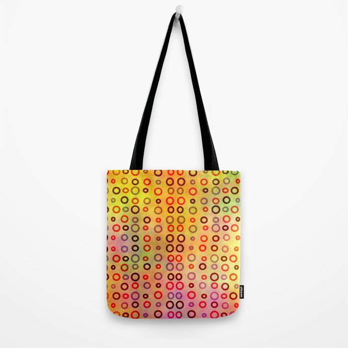 Playful circles Tote Bag