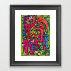 Amazing Brooks Framed Art Print