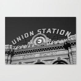 Denver - Union Station 2009 Canvas Print