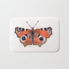 Peacock Butterfly Bath Mat