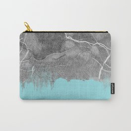 Crayon Marble and Sea Carry-All Pouch