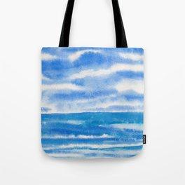 Bluegreen Seascape Tote Bag