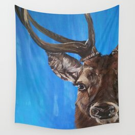 Elk stag Wall Tapestry