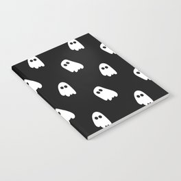 Black and White Ghosts Notebook