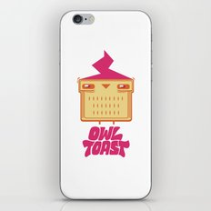 Owl Toast iPhone & iPod Skin