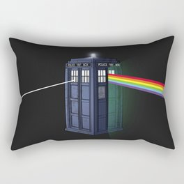 The Dark Side of the Booth Rectangular Pillow