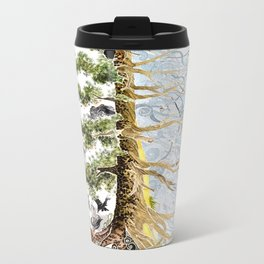 The Woods and The Water Metal Travel Mug