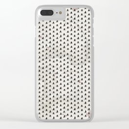 Stinky Garbage Flys Clear iPhone Case