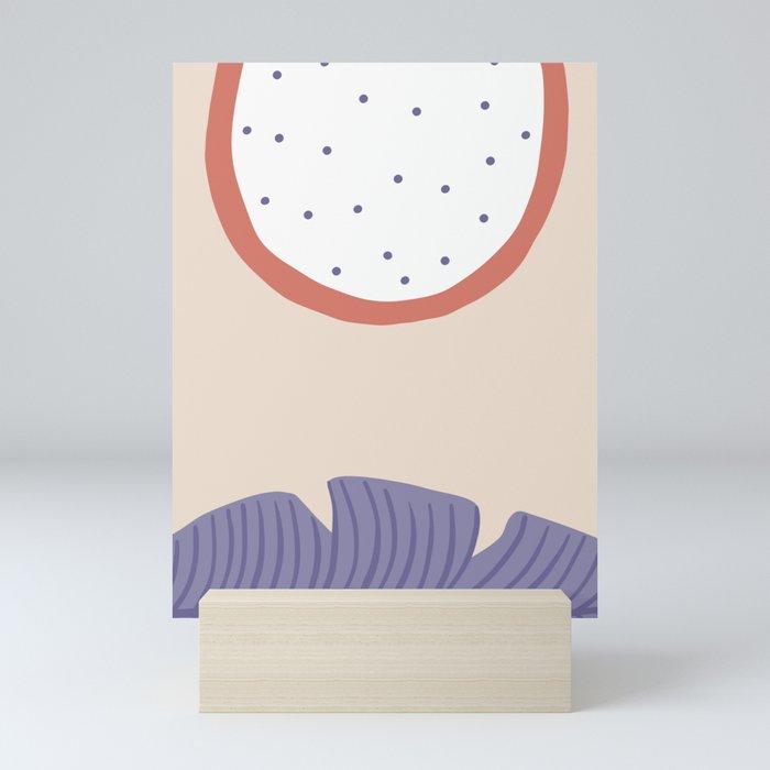 Papaya Mini Art Print