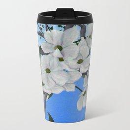 Cherry Blossoms Metal Travel Mug