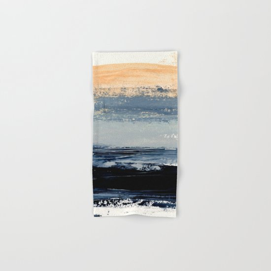 abstract minimalist landscape 5 Hand & Bath Towel