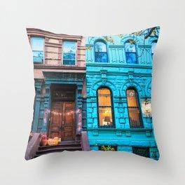 New York City Colors Throw Pillow