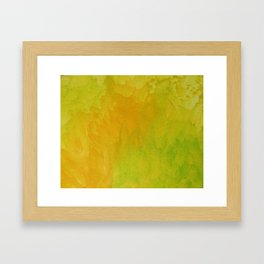 Lemon/Lime Framed Art Print