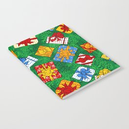Christmas gifts pattern Notebook