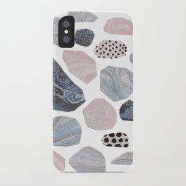 Marble stones iPhone Case