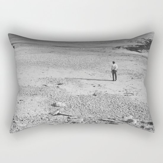 tell me no lies, make me a happy man... Rectangular Pillow