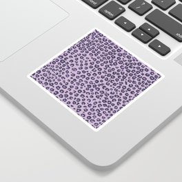 Pink cheetah Sticker
