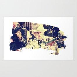 Bugsy Malone Eats A Gun Full Of Pie Art Print