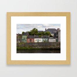 Irish Cottages Framed Art Print