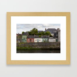 Irish Cottages Framed Art Print