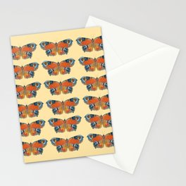 Peacock Butterfly Pattern Stationery Cards