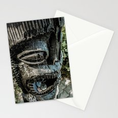 Bribing the gods for a little luck Stationery Cards