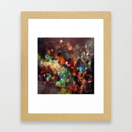 Colorful Contemporary Abstract Art Framed Art Print