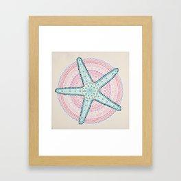 Seastar Framed Art Print