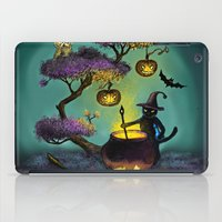 halloween iPad Cases featuring Halloween by Anna Shell