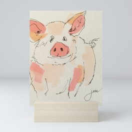 This Little Piggy... Mini Art Print