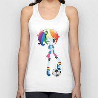 mlp Tank Tops featuring MLP - Rainbow Dash by Choco-Minto