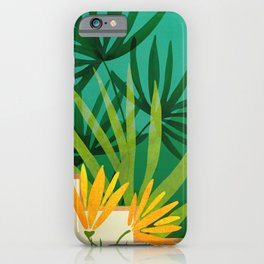 Exotic Garden Nightscape / Tropical Night Series #2 iPhone Case